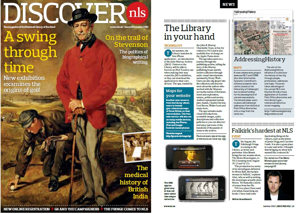 Discover NLS (July 2010)