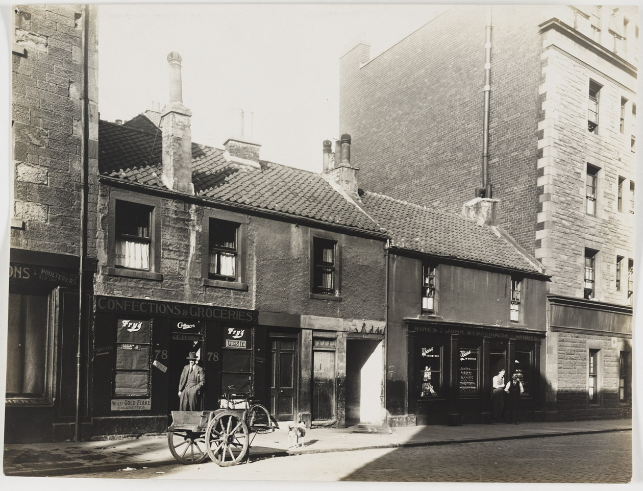 Exterior image of 72-78 Causewayside (image courtesy of the National Library of Scotland)