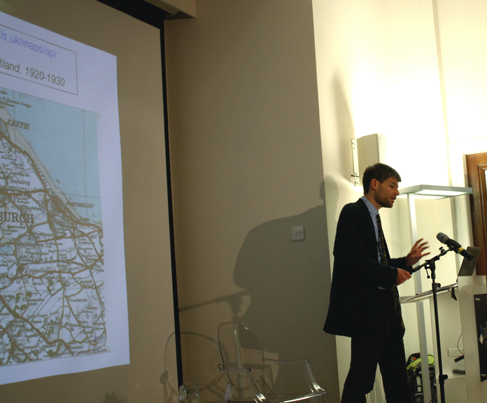 Chris Fleet talks about the NLS mapping APIs and Georeferencer.