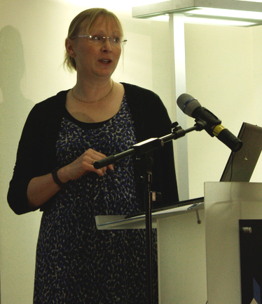 Helen Chisholm talking about the Statistical Accounts of Scotland at the AddressingHistory Launch Event.