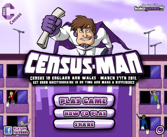 Image from the Census-Man Online Game